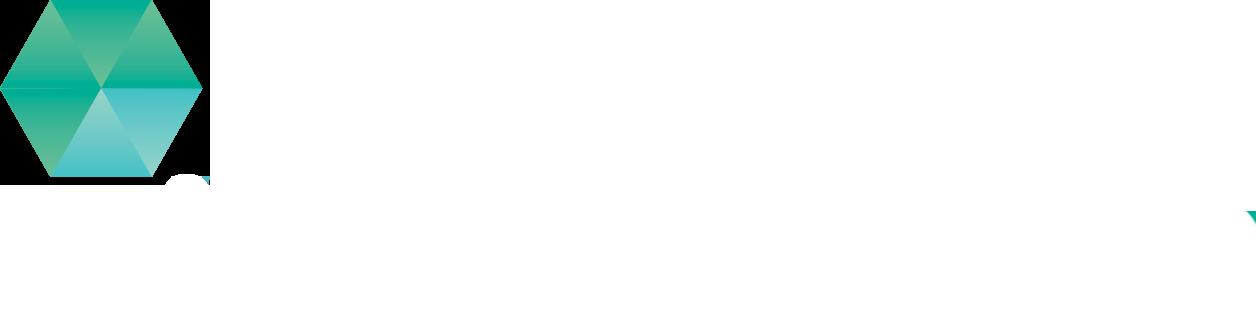 Material logo white