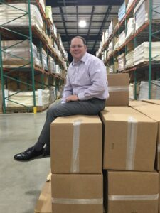 Brent in Warehouse